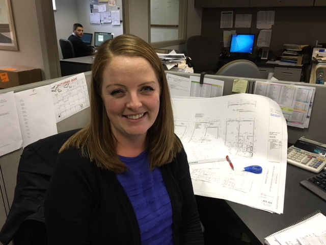 Welcome April Kelly, Tague Lumber's new Kitchen Designer