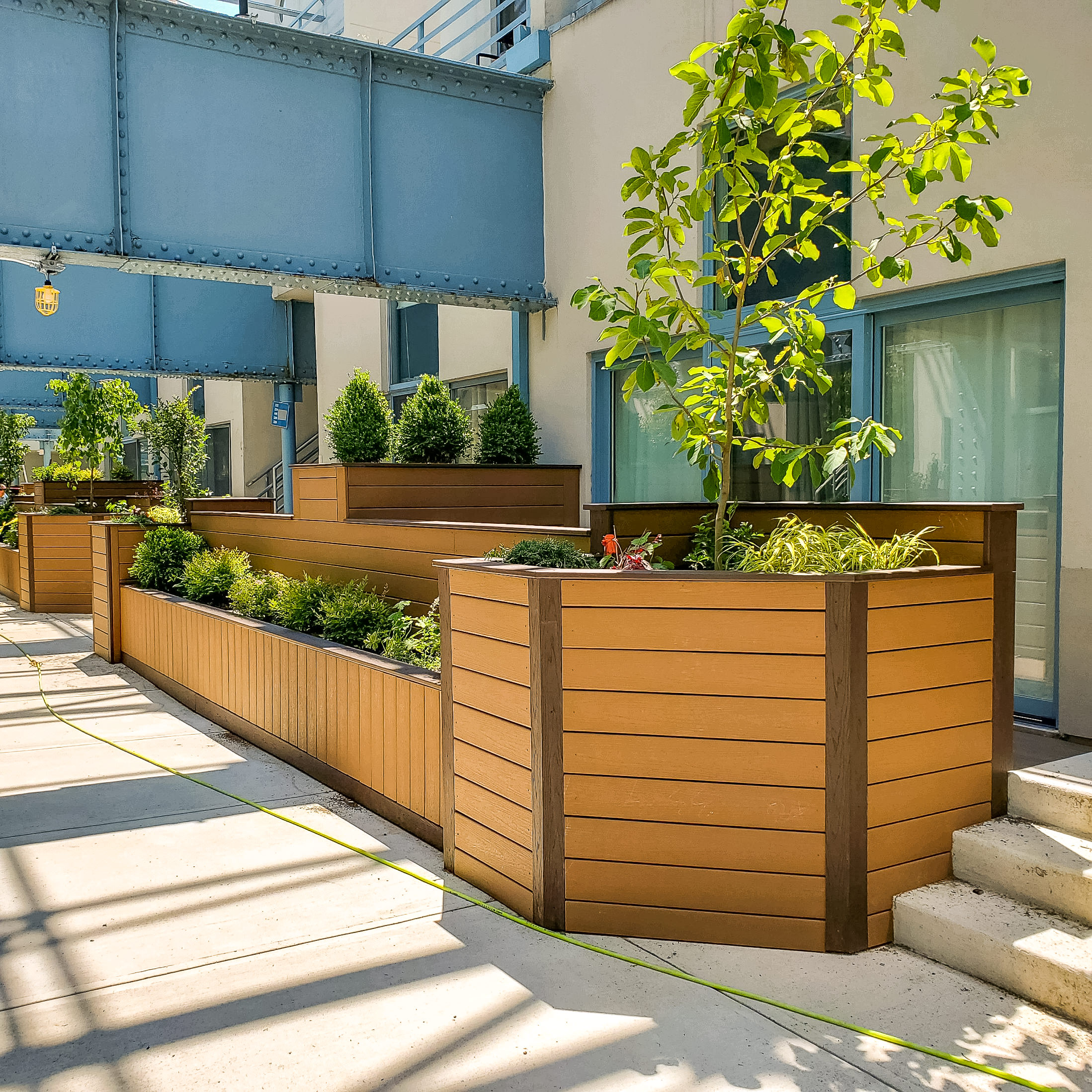 Use Composite Decking To Make Durable Planter Boxes Tague Lumber