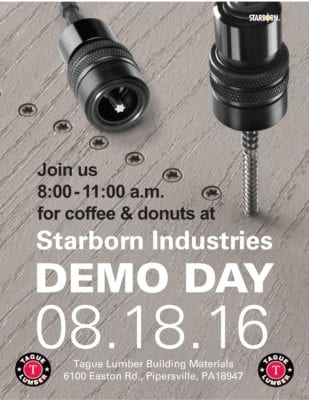 FREE donuts & coffee at Starborn Demo Day – Doylestown