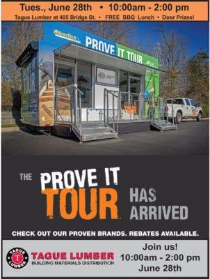 AdvanTech Prove it Tour at Tague Lumber of Phoenxiville