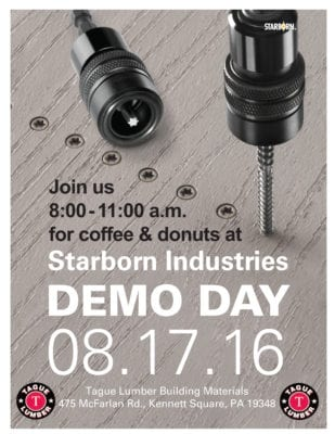 FREE Donuts & Coffee at Starborn Demo Day – Kennett Sq.