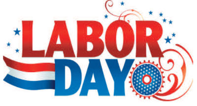 Labor Day Holiday Schedule