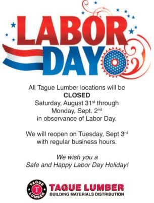 Labor Day Holiday 2019