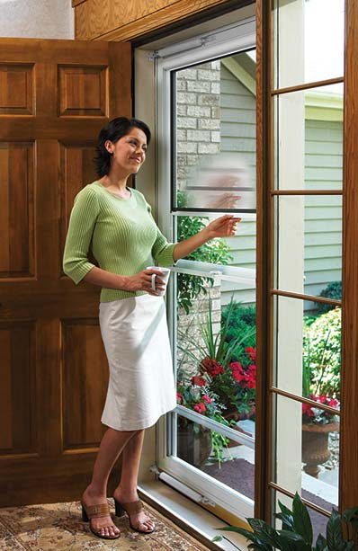 Larsen door larson doors are so easy to install we have a patented design on our installation - Larson secure elegance door ...
