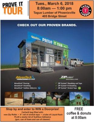 Huber Prove-it Van in Phoenixville