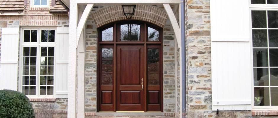 Somerset Exterior Door With Sidelites