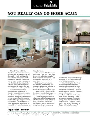 As seen in Philadelphia Magazine — You Really Can Go Home Again