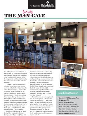 As seen in Philadelphia Magazine — The Family Cave