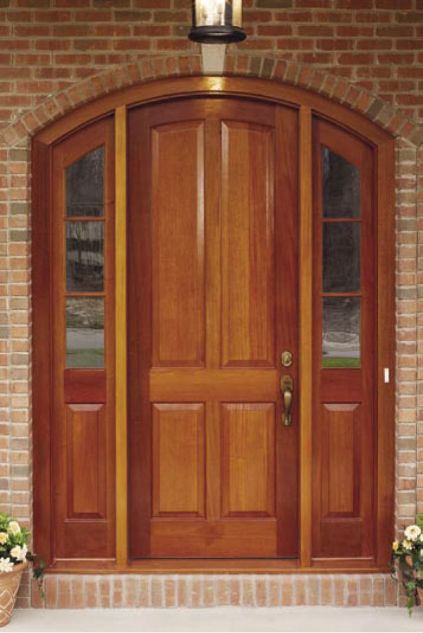 Upstate Door Arched Sidelights