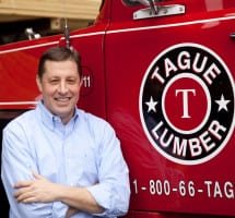 TJ Vanleer Promoted to Vice President at Tague Lumber