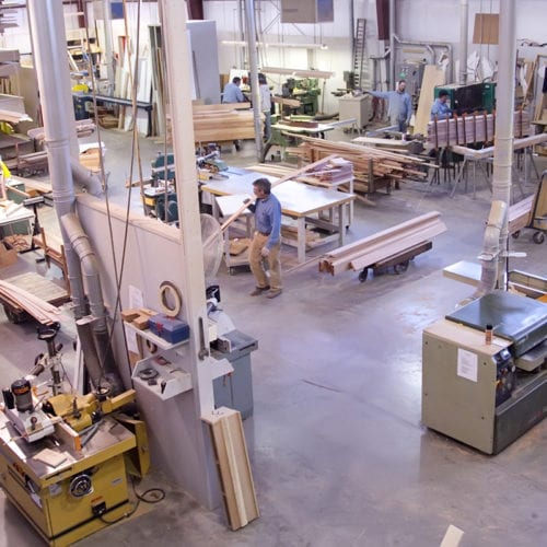 About Our Custom Millwork Division