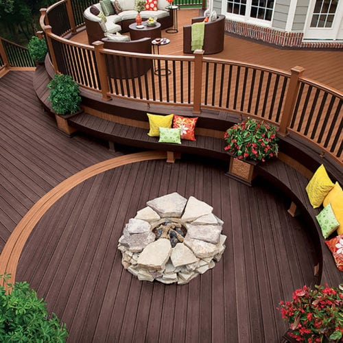 Decking   —   Wood Species, Pressure-Treated, PVC, and Composite Materials