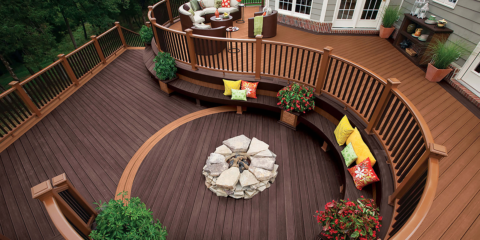 Decking Wood Species Pressure Treated Pvc And Composite Materials Tague Lumber